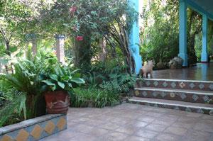 Casa-walkway